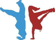 霹雳舞 免版税图库摄影