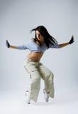 青少年冷静的舞蹈演员 库存照片