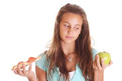 青少年的决策 免版税库存图片