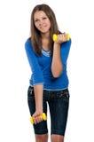 青少年的女孩 库存照片