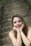 青少年的妇女 免版税库存照片