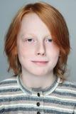 青少年的男孩 免版税图库摄影