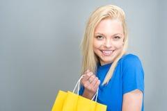 青少年的白种人女性模型 图库摄影