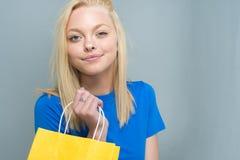青少年的白种人女性模型 库存图片