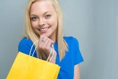 青少年的白种人女性模型 免版税库存图片