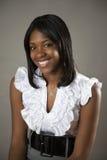 青少年的非洲裔美国人 库存照片