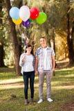 青少年夫妇 免版税库存图片
