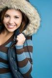 青少年的冬天 免版税图库摄影