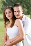 青少年的夫妇 库存照片
