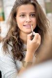 青少年的女孩组成 免版税图库摄影