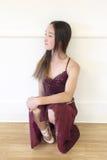 青少年的舞蹈演员 图库摄影