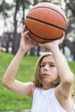 青少年的运动员 图库摄影