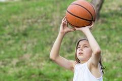 青少年的运动员 免版税库存照片