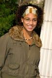 青少年非洲裔美国人的女孩 免版税库存图片