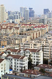 青岛,中国都市风景  库存照片