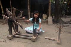 青年期女孩印度 图库摄影