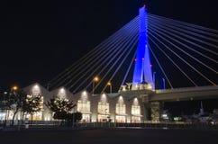 青森桥梁 免版税库存图片