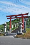 青森kabushima寺庙 免版税库存照片