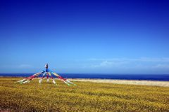 青海湖风景 免版税图库摄影