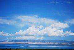青海湖 免版税图库摄影
