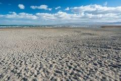 青海湖- Ch的最大的盐水湖郊外  库存照片