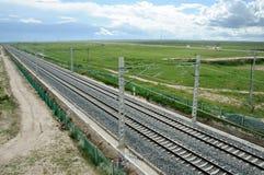 青海西藏铁路 免版税图库摄影