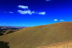 青海西藏高原秋天秀丽  免版税图库摄影