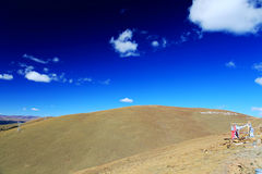 青海西藏高原秋天秀丽  图库摄影