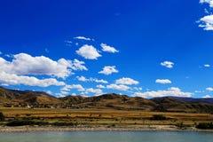 青海西藏高原秋天秀丽  库存照片