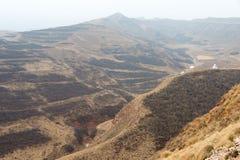 青海,中国- 2015年4月03日:Taktser村庄 村庄  免版税库存图片