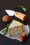 青纹干酪 免版税库存图片