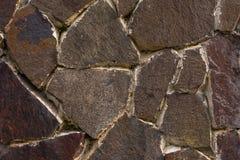青苔岩石石头纹理 自然样式纹理  无缝的石纹理 免版税库存图片