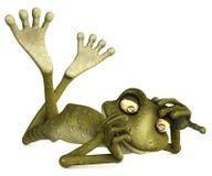 青蛙亲吻 免版税图库摄影