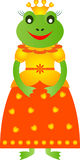 青蛙例证, Frog Illustration,青蛙动画片公主 免版税库存图片