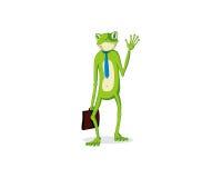 青蛙办公室 库存图片