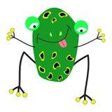 青蛙动画片 免版税库存图片