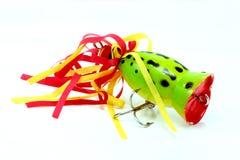 青蛙模仿popper 库存照片