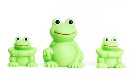 青蛙橡胶 库存图片