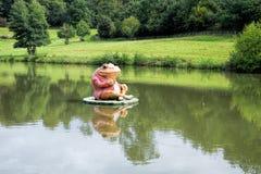 青蛙渔 免版税图库摄影