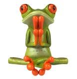 青蛙禅宗 免版税库存图片