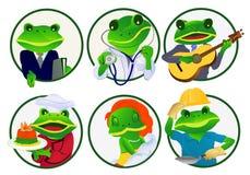 青蛙行业 图库摄影