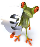 青蛙购物 向量例证
