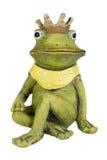 青蛙-有金冠的公主 向量例证