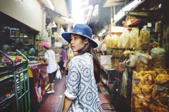 青年文化旅行假日放松概念 免版税库存照片