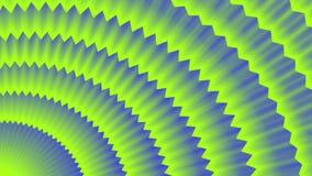 青绿的背景,接合的线的辐形运动 库存例证