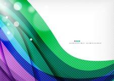 青绿的紫色线背景 免版税库存图片