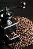 静物画咖啡 免版税库存照片