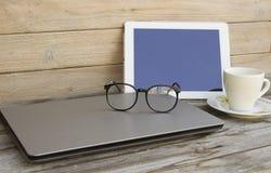 静物画用企业设备 免版税图库摄影
