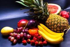 静物画-被分类的果子 免版税库存图片