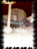 静音的城市 库存图片